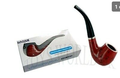 Haojue Smoking Wooden Look Pipe For Tobacco Good Quality Present New & Boxed
