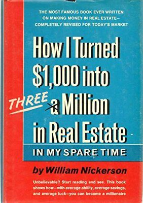 1000 to 3000000 R by William Nickerson (1969, Hardcover)