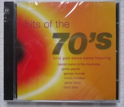 Hits Of The 70'S Solid Gold Dance Tracks Cd Various Artists Factory Sealed Cd