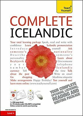 Complete Icelandic with Two Audio CDs: A Teach Yourself Guide by Jonsdottir,…