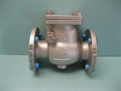 """2"""" 150# TCI Flanged SS Swing Check Valve NEW B19 (2457)"""