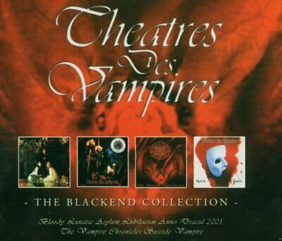 Theatres Des Vampires - Blackend Collection - Theatres Des Vampires CD VUVG The