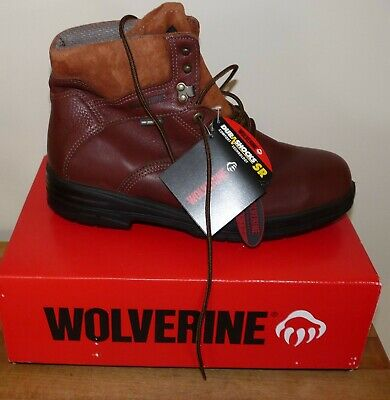 12faff124c7 NEW MEN'S WOLVERINE Durashocks SR Steel Toe Work Boots W03120 12W
