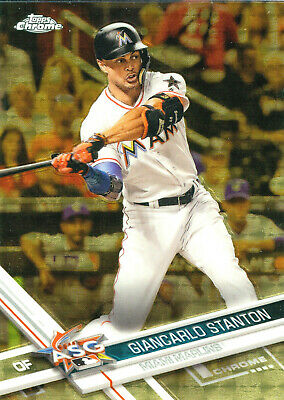 Giancarlo Stanton 2017 Topps Chrome Update Superfractor 1/1!!! Free Ship!