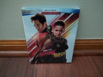 Marvel Ant-Man and The Wasp Blu Ray 2018 Movie BRAND NEW w/ Slipcover