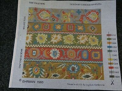 Ehrman Tapestry canvas 'Tibetan Stripe' by Candace Bahouth