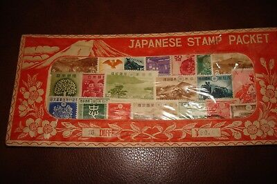 Japanese Stamp Pack  Sealed