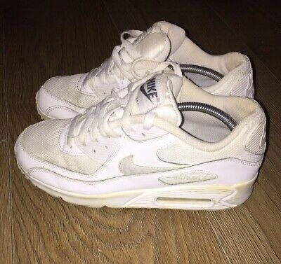 watch 032a3 0d069 Nike Air Max Ladies White Trainers Size 5.5 Uk