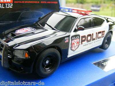 Carrera Digital 132 30441 Dodge Charger Police 2006 Blinklicht NEU RAR