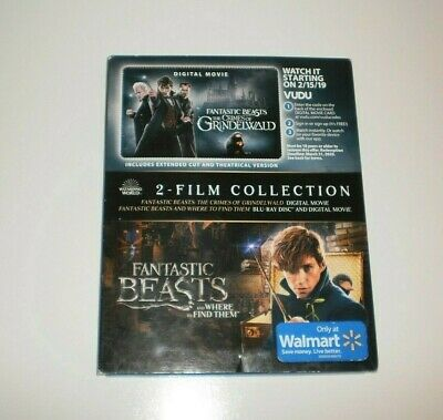 Fantastic Beasts: Where To Find Them & Crimes of Grindelwald (Blu-Ray) DIGITAL