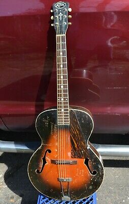 Vintage  Gibson Made Henry L Mason  1938 Acoustic Archtop L-50 Rare & Cool