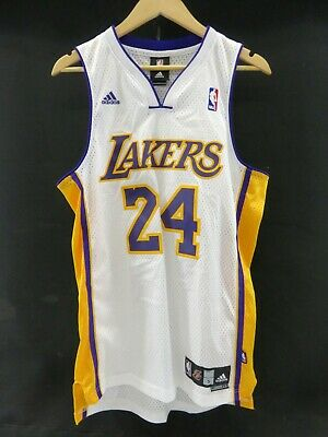 outlet store 36669 eef11 ADIDAS LOS ANGLES Lakers # 24 Kobe Bryant Jersey Size Small- TDS