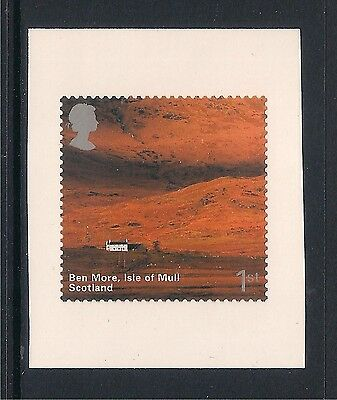 GB mint stamps - 2003 British Journey Scotland, SG2391, ex booklet s/a stamp