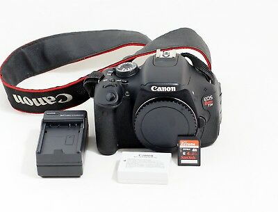 CANON EOS 60D 18 0MP Digital SLR Camera - Black (Body Only