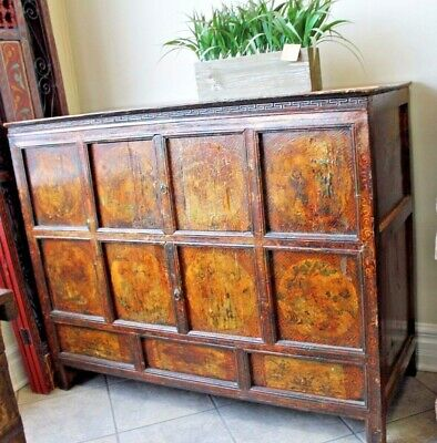 Chinese old chest.