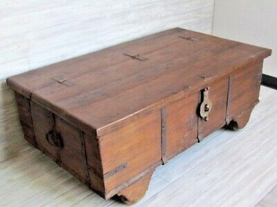 Rustic old Chest/Coffee Table Alternative. Reclaimed Wood.