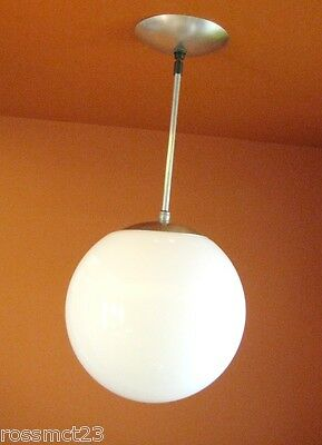Vintage Lighting ten 1950s Mid Century 10 wide globe lights   More Available