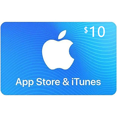 App Store & iTunes Gift Card $10 Apple US top up Fornite V buckes Apple games