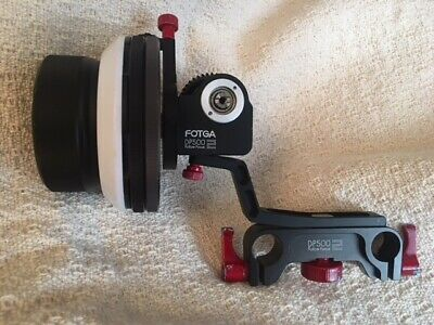 FOTGA DP500 2 FOLLOW FOCUS W 15mm ROD MOUNT   GREAT FOR BMPCC4k SONY & PANASONIC
