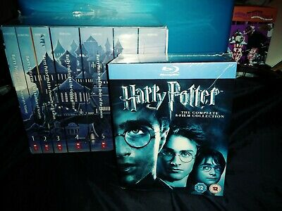 Harry Potter Book Collection and The Complete Blu-ray Box set