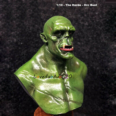 1//10 resin figure bust model garage kit miniatures Film Game The Orc Role RN1487