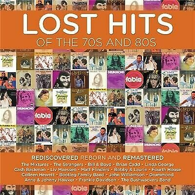 LOST HITS OF THE 70s & 80s Brian Cadd, Frankie Davidson & The Mixtures CD NEW