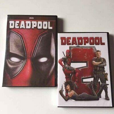 Deadpool 1 & 2 (DVD,2018) NEW* Action, Comedy,  Brand New Sealed! USA seller