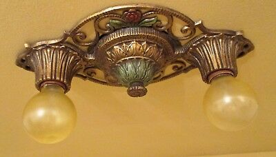Vintage Lighting 1930 Virden fixture