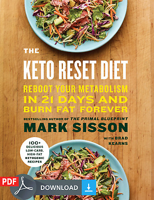 The keto Reset Diet 100+ Delicious Recipes Fast Shipping_1 Minute [PDF/EB00K]