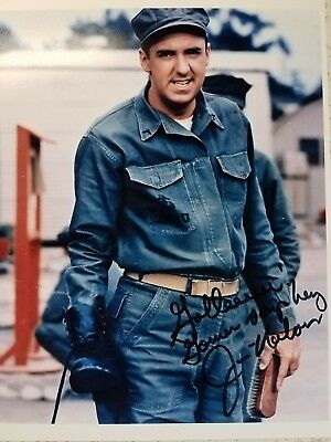 Signed 'Jim Nabors Gomer Pyle 8X10 Color RP Photo w/coa Free Shipping ONLY $6.35