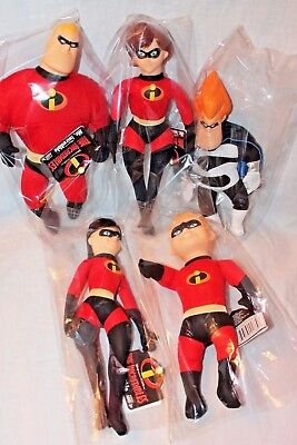 """NEW WITH TAGS 9/"""" DISNEY PIXAR 2004 THE INCREDIBLES SYNDROME PLUSH"""