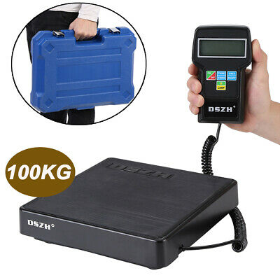 Digital Electronic Refrigerant Charging Scale 220lbs/100KG With Carry Case