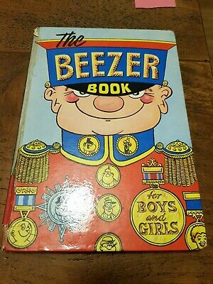 Mthe Beezer Book For Boys And Girls 1964