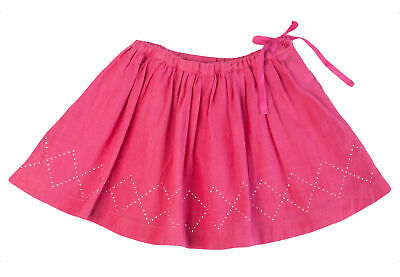 EGG BY SUSAN LAZAR Baby Girl's Magenta Gauze Skirt P5GA2691 18M NEW