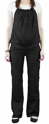 9 Fashion Maternity Rico Black Convertible Trouser Sz S NWT