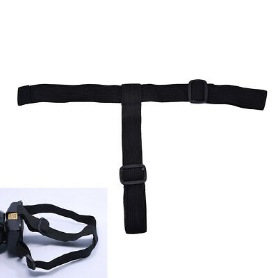 Elastic adjustable headband belt headlight lamp head strap for flashlight S/&K