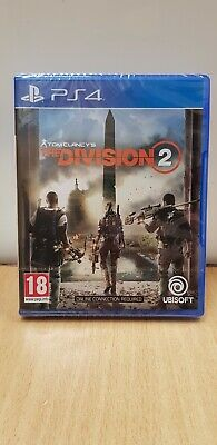 Brand New & Sealed Tom Clancy's The Division 2 for PS4