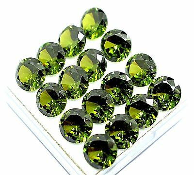 Ggl Certify 150  Ct Round Cut Natural Peridot Gorgeous Facet Gemstone Lustrous