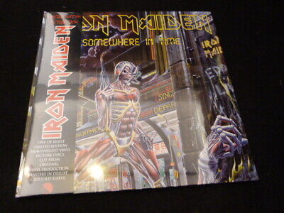 Iron Maiden -Somewhere In Time   2012  Lp  Picture Disc Mint Sealed  Rare