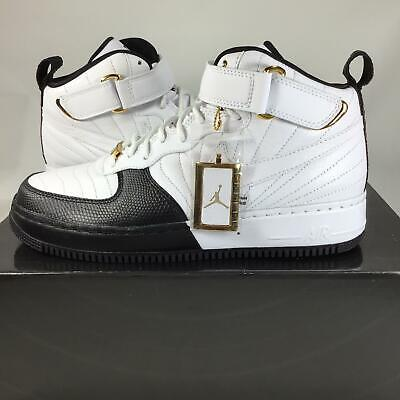 sports shoes 1e927 6b37e 2007 Air Jordan AJF 12, white-black-taxi Playoffs 317742101 Sz. 9