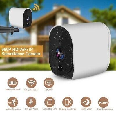Telecamera IP Camera HD 1080P Wifi Wireless IR Motorizzata IP66 Per ALexa Google