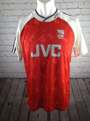 FC ARSENAL LONDON Trikot Adidas JVC vintage football shirt