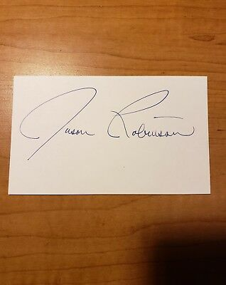 Jason Robinson - Boxer - Autograph Signed - Index Card -Authentic - A1814