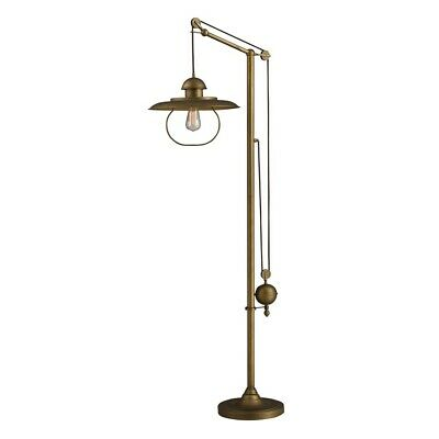 Dimond Farmhouse Floor Lamp in Antique Bronze Finish with Metal Shade - D2254