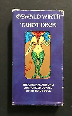 Vintage Oswald Wirth Occult Tarot Cards Deck US Games 1976