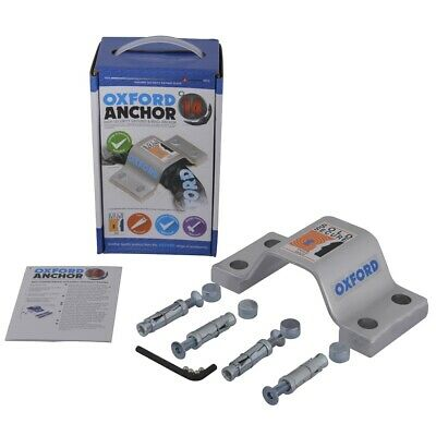 Oxford Anchor 14 Motorcycle Security Ground Anchor Kit (LK396)