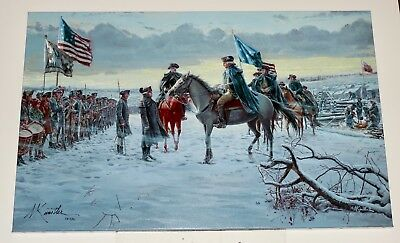 Mort Kunstler - Winds Of Change -  Canvas - Revolutionary War