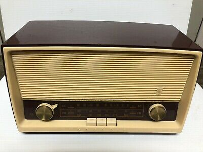 Vintage Grundig Radio Model 88U AM/FM Tube Radio Parts only Not Working