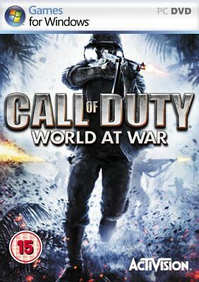 Call of Duty: World at War (PC-DVD) BRAND NEW SEALED