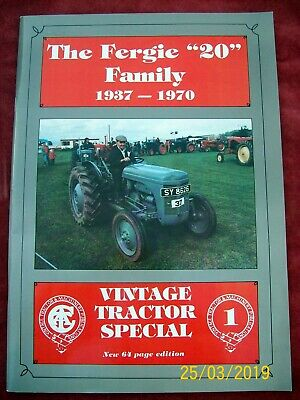 The Fergie 20 Family, 1937-70 by Allan T. Condie  Vintage Tractor Special
